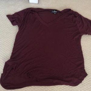 Maroon Lulus shirt